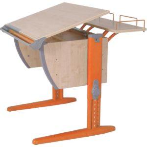 Парта Дэми СУТ-14.1 75см клен-оранжевый