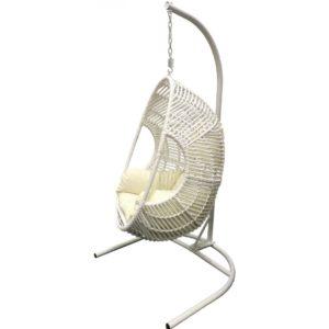 Подвесное кресло «ГОТИКА» белое