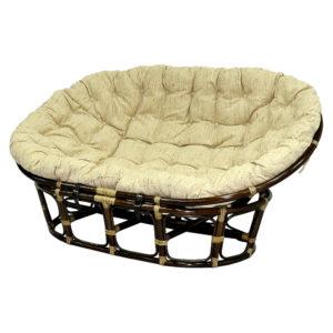 Кресло MAMASAN с матрасом античный орех