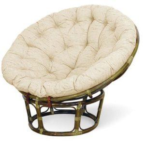 Кресло PAPASAN с матрасом 23-01 орех
