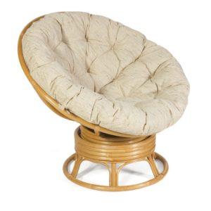 Кресло-качалка PAPASAN с матрасом 23-01В мед