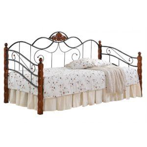 Кровать-кушетка «Канцона» (Canzona) черная