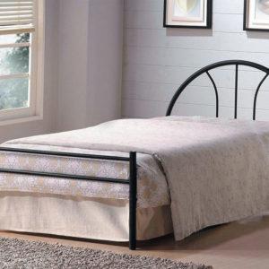 Кровать металлическая односпальная AT 233 (метал. каркас) + основание