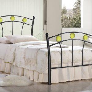Кровать односпальная «Мундиаль» (Mundial) + основание теннис
