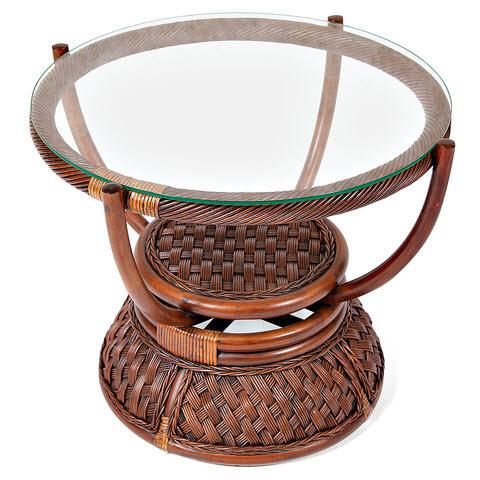 Стол кофейный из ротанга «Андреа»