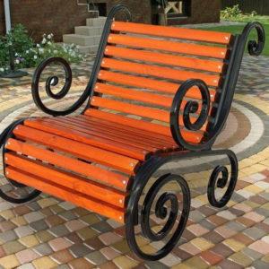 Кресло садовое Ажур СА-1 фото