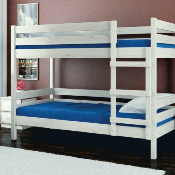 Кровать Джуниор бел.дуб