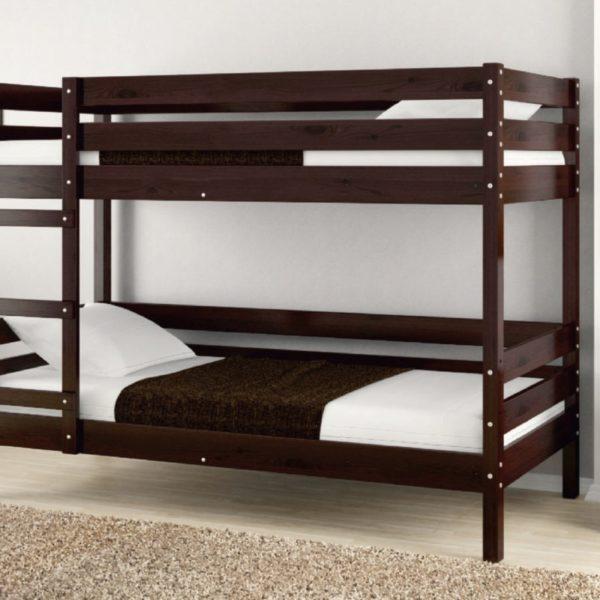 Кровать Джуниор орех темный
