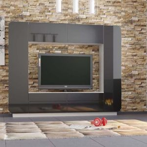 Стенка Лаванда 2 черный фото