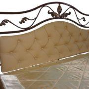 Кровать двойная металлическая Виола спинка