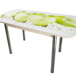 Стол фото зеленое яблоко