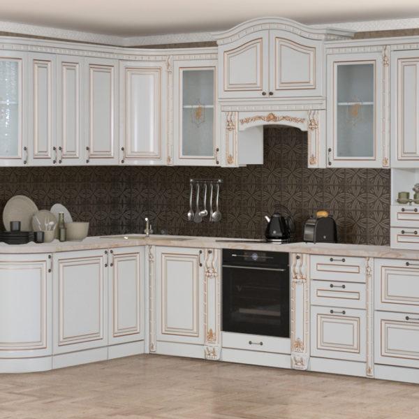 Кухня «Деметра» NEW радиусная угловая L1970х3140