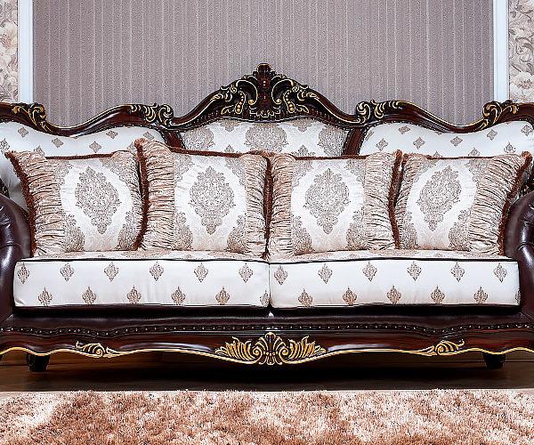 Набор мягкой мебели «ИМПЕРИАЛ» орех диван