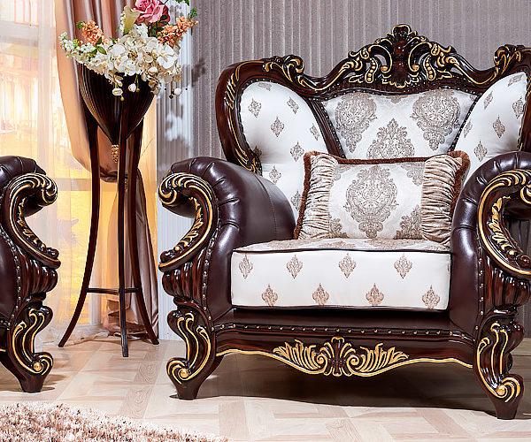 Набор мягкой мебели «ИМПЕРИАЛ» орех кресло