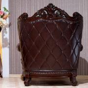 Набор мягкой мебели «ИМПЕРИАЛ» орех кресло сзади