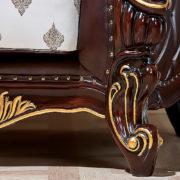 Набор мягкой мебели «ИМПЕРИАЛ» орех ножка кресла