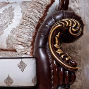 Набор мягкой мебели «ИМПЕРИАЛ» орех подлокотник