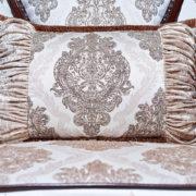 Набор мягкой мебели «ИМПЕРИАЛ» орех подушки
