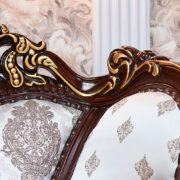 Набор мягкой мебели «ИМПЕРИАЛ» орех спинка кресла