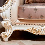 Набор мягкой мебели Империал крем диван 3х местный фото-1