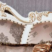 Набор мягкой мебели Империал крем диван 3х местный фото-2
