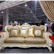 Набор мягкой мебели Империал крем диван 3х местный фото-3
