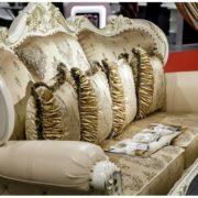 Набор мягкой мебели Империал крем диван 3х местный фото-4