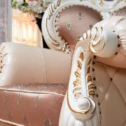 Набор мягкой мебели Империал крем кресло фото-1