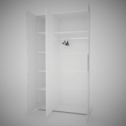 Шкаф 3х Сорренто наполнение