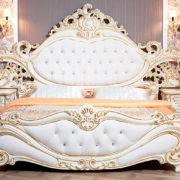 Спальня Федерика крем кровать фото