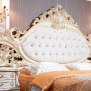 Спальня Федерика крем кровать изголовье