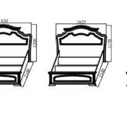 Спальня модульная «Деметра» NEW кровати