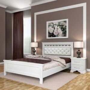 Кровать Грация белый