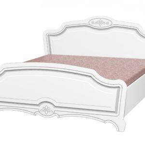 Кровать Лотос (Белый Жемчуг)