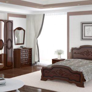 Спальня Идиллия орех ЛАК