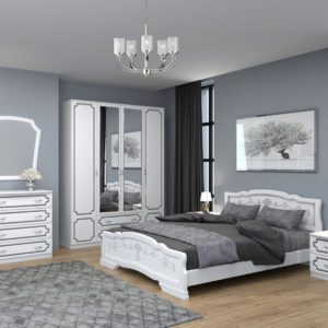 Спальня ЛАК (Белый Жемчуг)