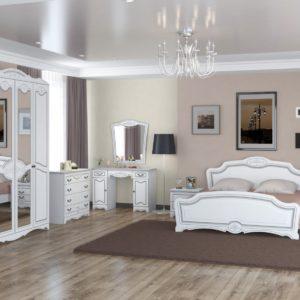 Спальня Лотос (Белый Жемчуг)