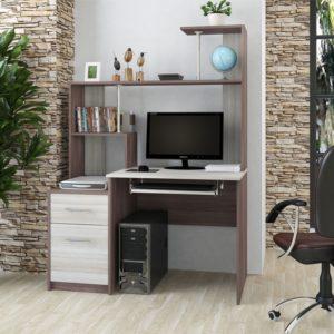 Стол компьютерный №2 ясень