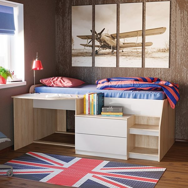 Кровать Тони-10 (спальное место 1910х780)