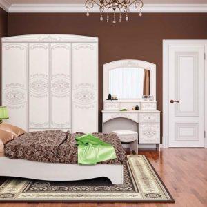 Спальня Каролина Комплектация 1