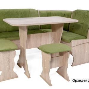 Кухонный уголок Орхидея Сонома ФЛОК ГРИН