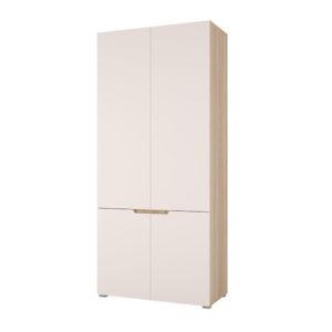 Спальня Анталия Сонома - Белый Софт шкаф 2дв.