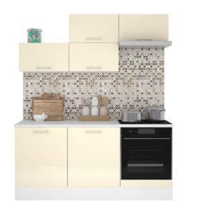 Кухня Люкс 1.8м Ваниль