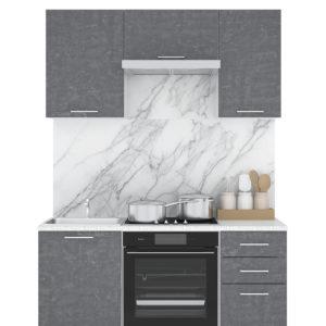 Кухня Лофт 1,5м камень Арья