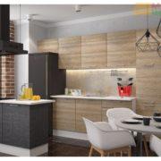 Кухня Полонез 3,0м Сосна Бран