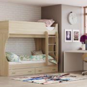 Кровать двухъярусная Адель - Д2 Сонома