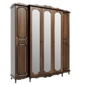 Шкаф для одежды 06.95 5-и дверный Дуб Кальяри Дуб Филадельфия
