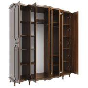 Шкаф для одежды 06.95 5-и дверный Дуб Кальяри Дуб Филадельфия наполнение