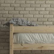 Кровать чердак с диваном из дерева фото-2