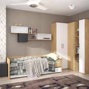Спальня для детей и подростков Гравити №1